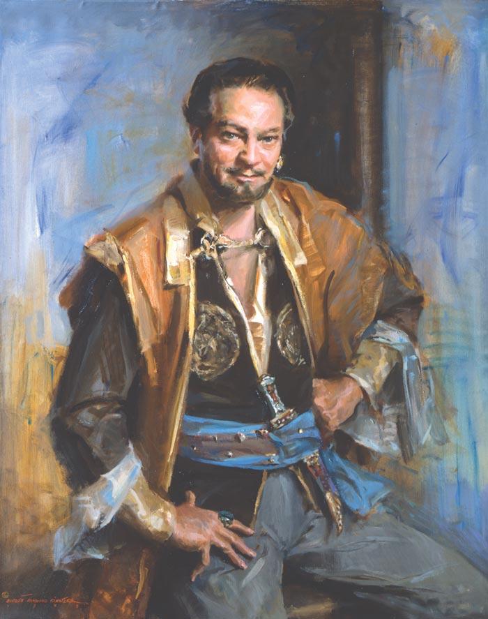 Personalities Everett Raymond Kinstler